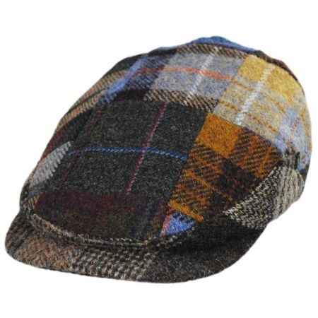 Patchwork Donegal Tweed Wool Ivy Cap alternate view 5