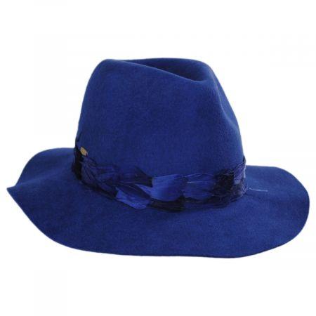 Marsala Wool Felt Fedora Hat alternate view 5