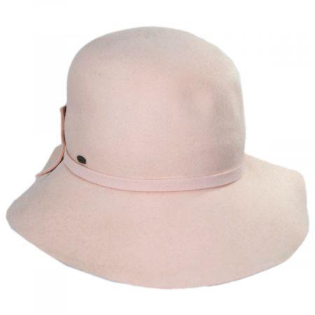 Sciacca Crushable Wool Felt Cloche Hat