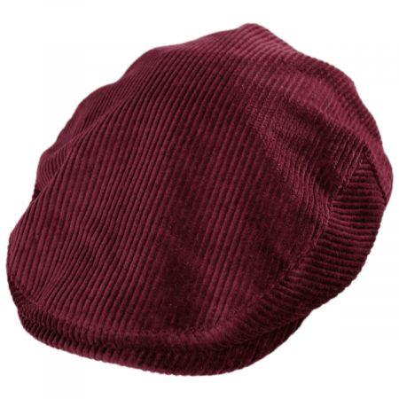 Brixton Hats Hooligan Solid Corduroy Cotton Ivy Cap