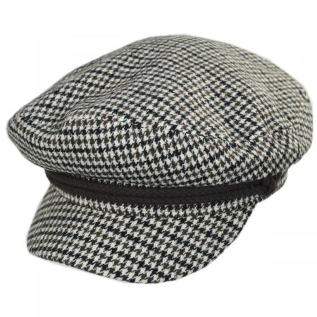 Wool Blend Fiddler Cap