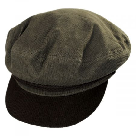 Two-Tone Cotton Fiddler Cap alternate view 1
