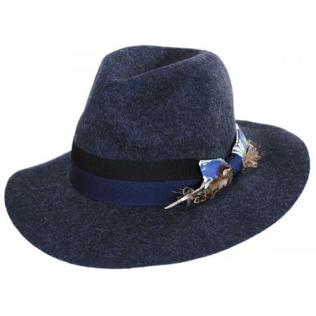 Carlos Santana Soul Wool Felt Fedora Hat