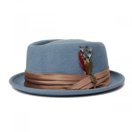 Stout Wool Felt Diamond Crown Fedora Hat alternate view 7