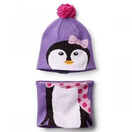 Penguin Beanie and Neck Gaiter Match Set