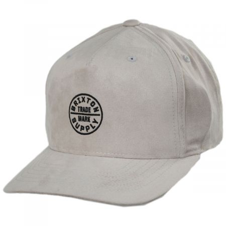 Brixton Hats Oath 110 MP Snapback Baseball Cap