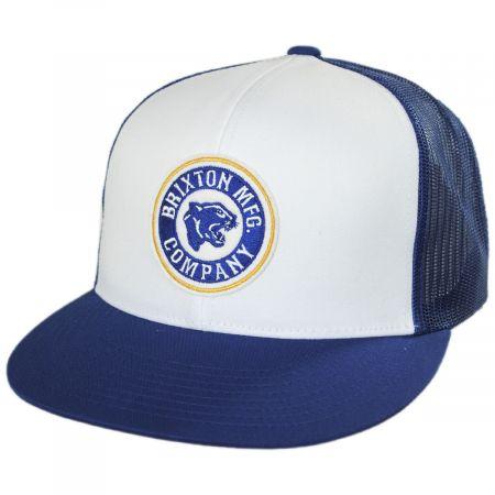 Brixton Hats Forte MidPro Mesh Trucker Snapback Baseball Cap