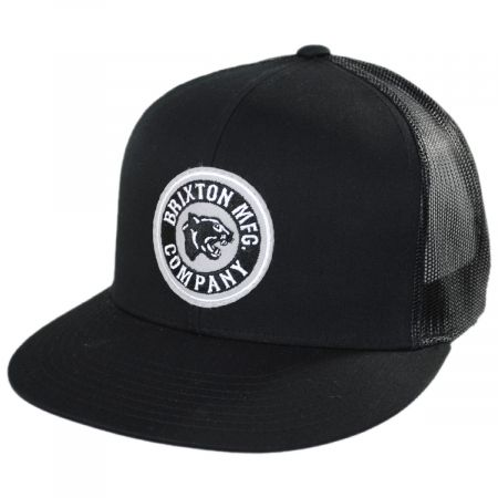 Brixton Hats Forte Mid Pro Trucker Snapback Baseball Cap