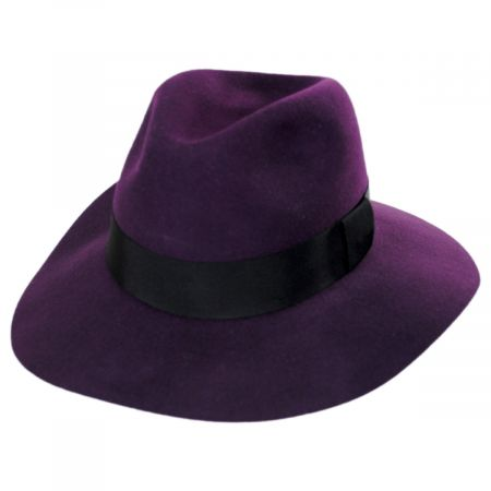 Pantropic Taylor Wool LiteFelt Fedora Hat