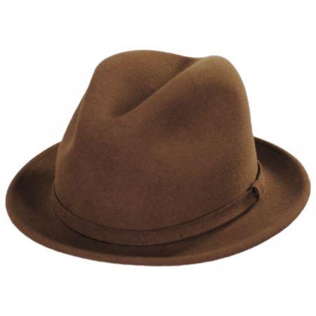 Charlie Wool LiteFelt Fedora Hat alternate view 6