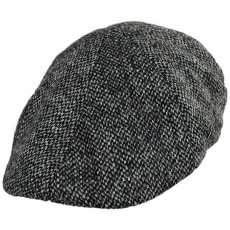 City Sport Caps Harris Tweed Barleycorn Wool Pub Cap