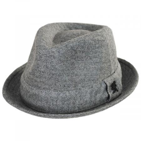 Carson Wool Blend Fedora Hat alternate view 9