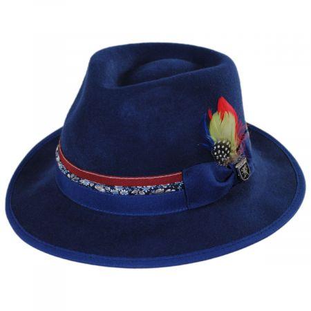 Stacy Adams Bloomington Wool Felt Fedora Hat