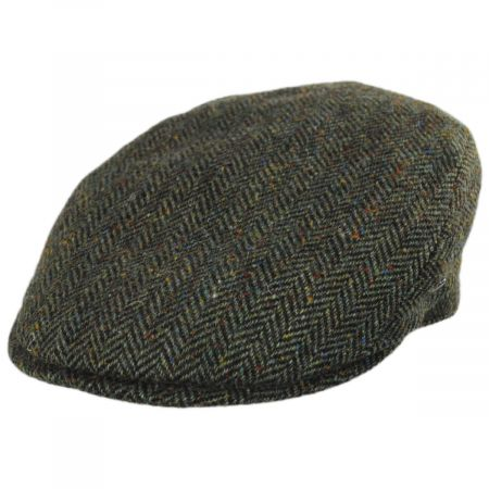 City Sport Caps Donegal Tweed Herringbone Wool Ivy Cap