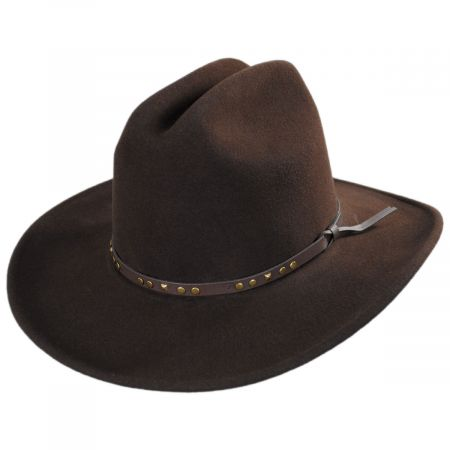 Bailey Chisolm Crushable Wool Litefelt Cattlemen Western Hat