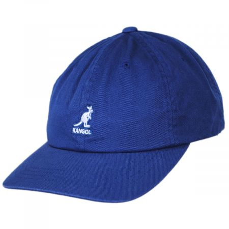 Washed Cotton Strapback Baseball Cap Dad Hat alternate view 5