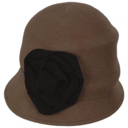 Alexandrite Wool Felt Cloche Hat alternate view 4
