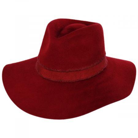 Ella Wool Felt Fedora Hat