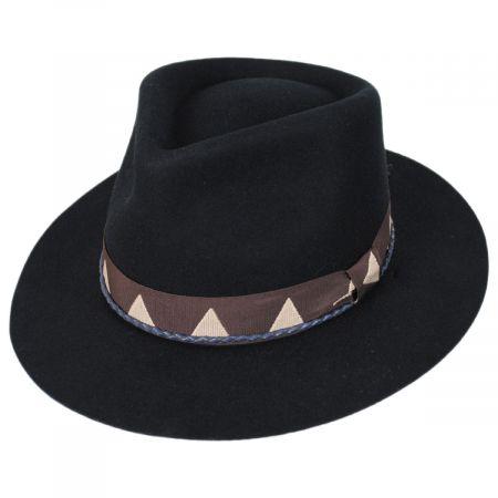 Brixton Hats Venice Wool Felt Fedora Hat