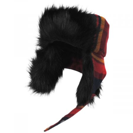 Winter Challenger Plaid Trapper Hat