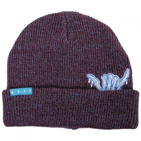 Neff Pocket Pal Knit Embroidered Beanie Hat