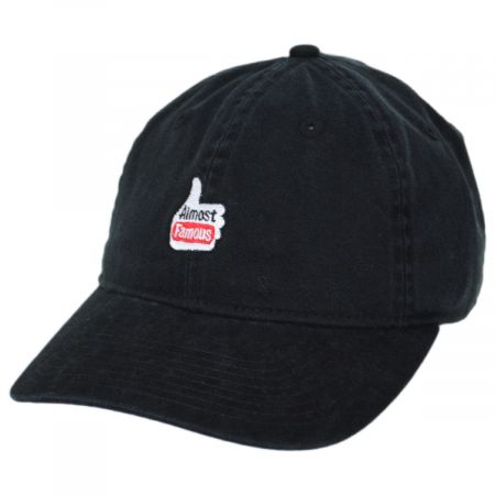 Larry Almost Famous Embroidered Strapback Baseball Cap Dad Hat