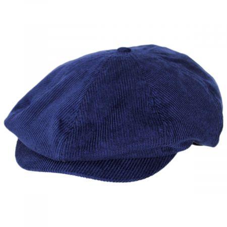 Brixton Hats Brood Corduroy Cotton Blend Newsboy Cap