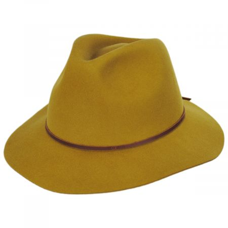 Wesley Wool Felt Fedora Hat alternate view 7