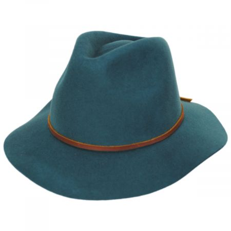 Wesley Wool Felt Fedora Hat alternate view 1