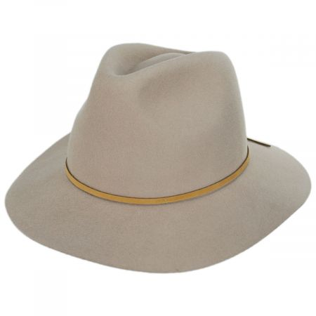 Wesley Wool Felt Fedora Hat alternate view 13