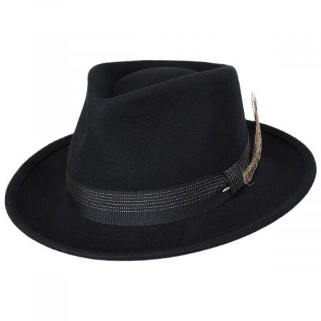 Brixton Hats Swindle Wool Felt Fedora Hat