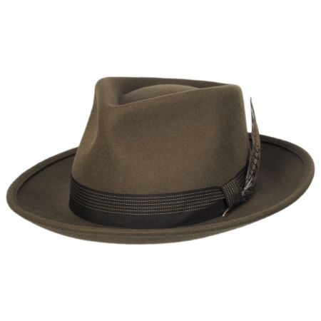 Swindle Wool Felt Fedora Hat alternate view 19