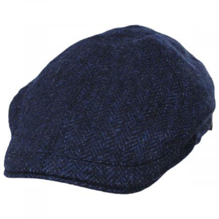 Wigens Caps Herringbone Wool Pub Cap