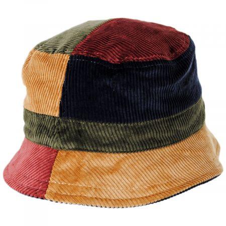 EK Collection by New Era Corduroy Reversible Cotton Bucket Hat