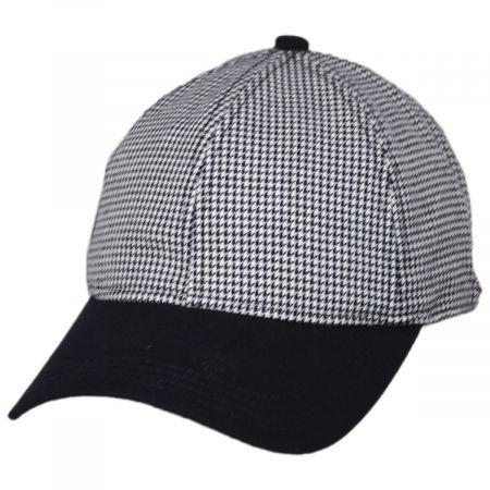 EK Collection by New Era Houndstooth 9Twenty Strapback Baseball Cap Dad Hat