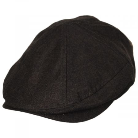 Flannel 7 Panel Cotton and Wool Blend Ivy Cap alternate view 1