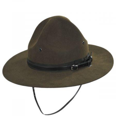 Stetson Wool Felt Campaign Hat