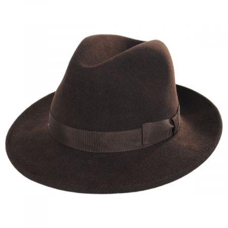 Terrell Crushable Wool Felt Fedora Hat alternate view 5