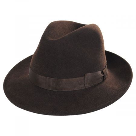 Terrell Crushable Wool Felt Fedora Hat alternate view 21