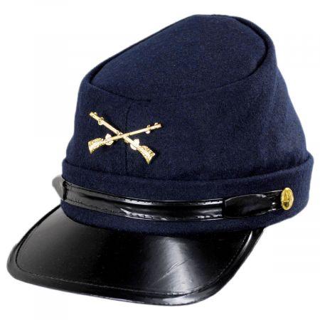 Jacobson Kepi Wool Felt Civil War Cap