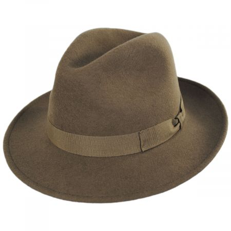 Terrell Crushable Wool Felt Fedora Hat alternate view 25
