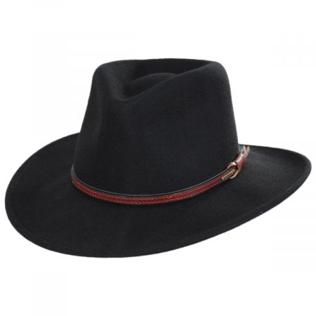 Stetson Bozeman Crushable Wool Felt Outback Hat