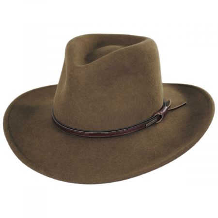 Bozeman Crushable Wool Felt Outback Hat alternate view 17