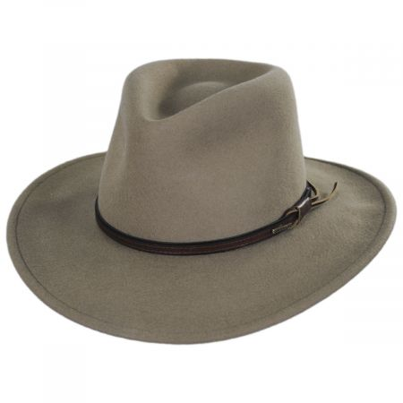 Bozeman Crushable Wool Felt Outback Hat alternate view 9