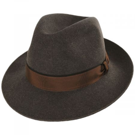Desmond Crushable Wool Felt Fedora Hat alternate view 9