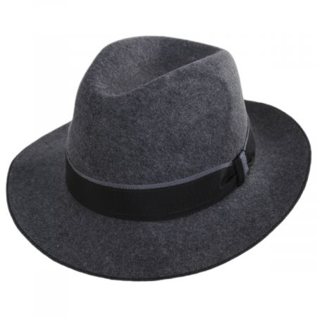 Desmond Crushable Wool Felt Fedora Hat alternate view 13