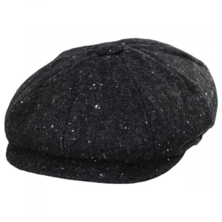 Jaxon Hats Sazerac Tweed Wool Blend Newsboy Cap