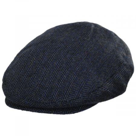 Jaxon Hats Filmore Herringbone Wool Blend Ivy Cap