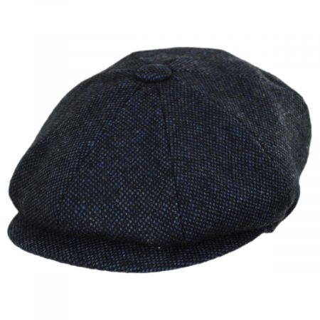 Jaxon Hats Collins Nailhead Wool Blend Newsboy Cap
