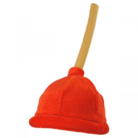 Velvet Plunger Hat alternate view 1